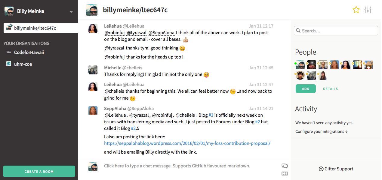 My Open Course Stack - billymeinke com