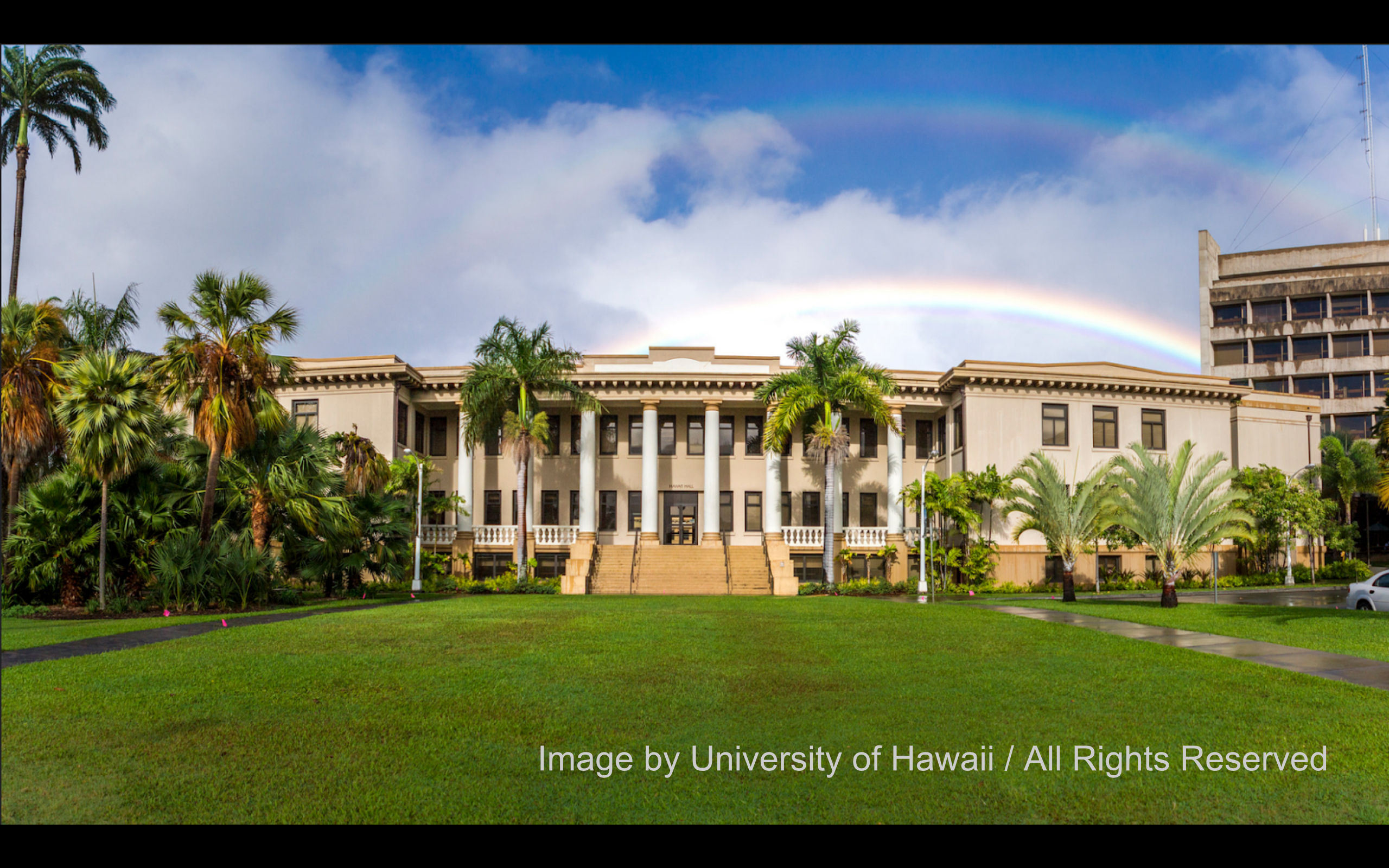 Hawaii Hall at UH Manoa